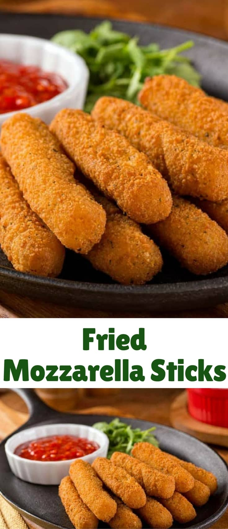 Fried Mozzarella Sticks are an EASY to make. If I had known how easy fried Mozzarella sticks are to make in my deep fryer, I would have made them years ago.
