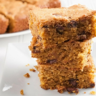 Easy Bake And Take Pumpkin Chocolate Chip Bars