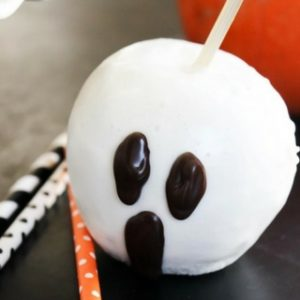 "Quick & Easy Halloween ""Candied"" Apples"