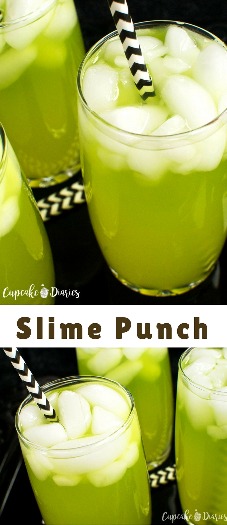 Slime Punch is the perfect drink to serve at a Ghostbusters® or Halloween party! And it's kid friendly so everyone can enjoy.