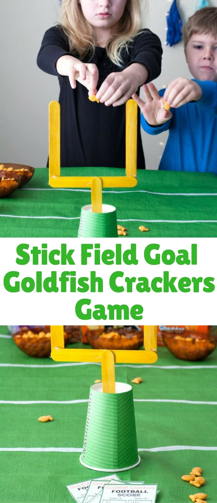 Goldfish crackers game