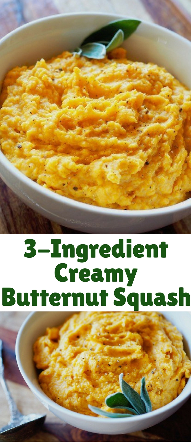 This delicious squash is super easy to make and it's packed with nutrition. Make it as a side with a savory dinner or top it with nuts for an easy breakfast!