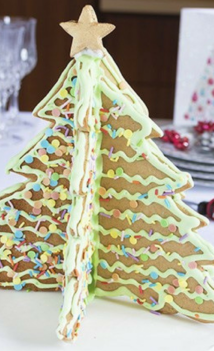 3d Gingerbread Christmas Tree Blogger Bests