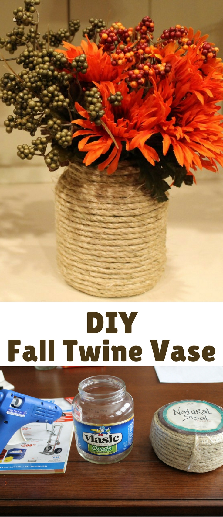I have been noticing lots of fall inspired crafts on pinterest and decided to take on one of my own. I recently finished a big hutch for the kitchen (post to come soon), and I need cute things to help style it. I found a couple little vases/bowls at the dollar store and thought they would be perfect to decorate.