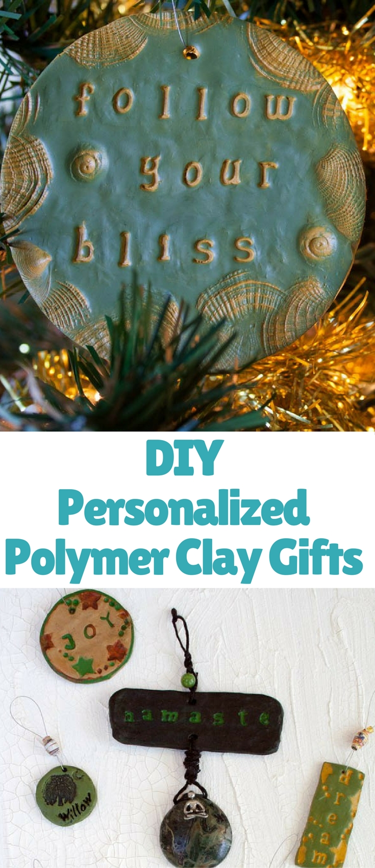 These easy DIY polymer clay gifts are something that anyone can make. You need very few materials to get you started.