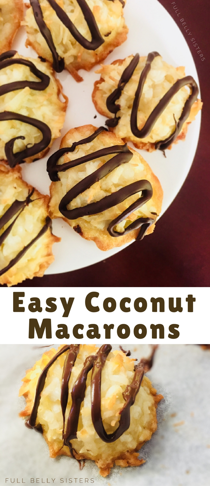 These Easy Coconut Macaroons are a lovely, delicious dessert that is—with just a few ingredients—simple to make. They're a perfect sweet treat alongside a cup of tea or on a holiday cookie platter!