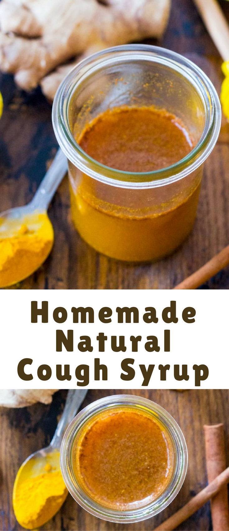 Easy Homemade Natural Cold Syrup is great to keep on hand during the cold season. It will give your immune system a boost, using all natural ingredients.