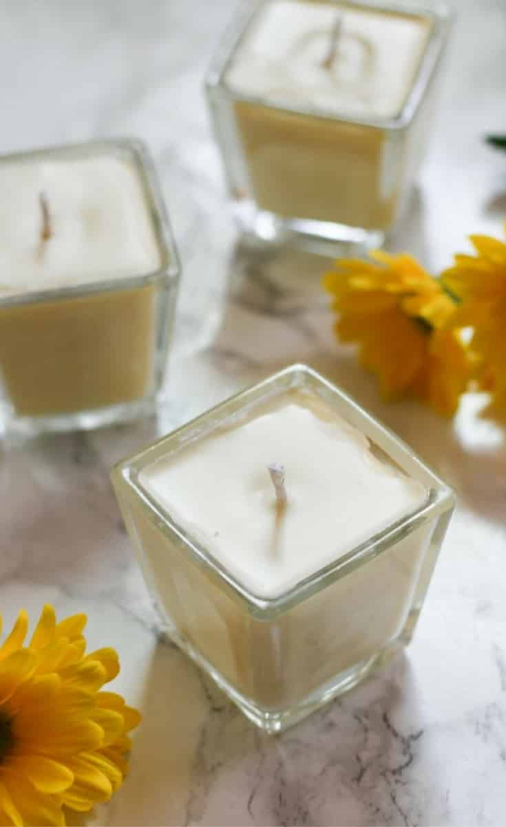 Store bought scented candles are often harmful for our environment and our health. Find out why I don't buy scented candles, and how make beeswax candles at home!