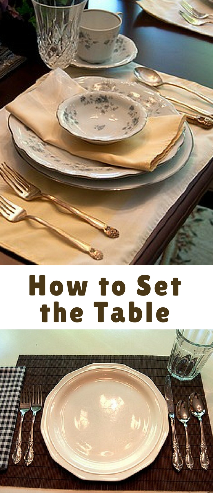 I have found that children do really enjoy setting the table. It becomes part of the mealtime ritual and helps them feel a part of the preparation. Even the smallest ones can help.