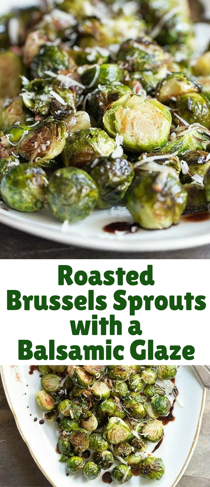 Roasted brussels sprouts are one of those dishes where I could eat a few on the side of my plate along with a nice juicy steak, or I could eat a whole bowl of them just on their own!