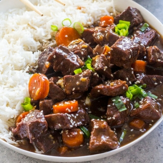 Slow Cooker Beef Teriyaki