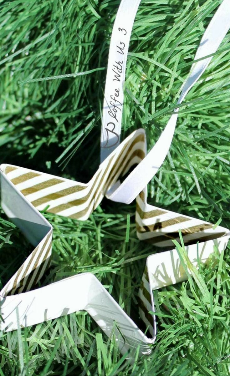 These are simple and cheap, and they are adorable in place of a bow on a wrapped present.