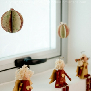 Christmas Paper Ornaments