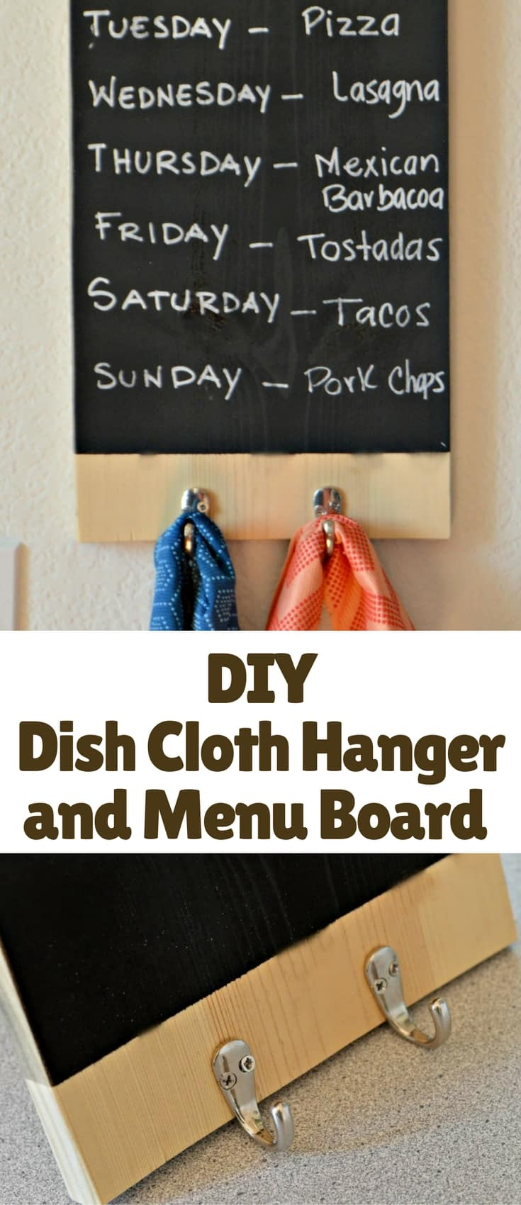 This is an easy tutorial that will look great in your kitchen and that is functional as well!