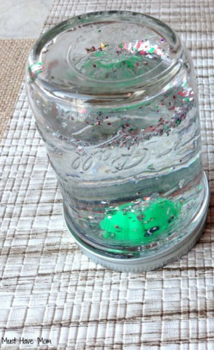 These DIY Shopkins Snow Globe decorations are cute and they are a fun project to do.