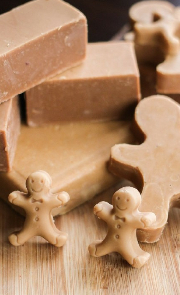 Christmas is the perfect time for making up a holiday soap because soap makes such a practical DIY gift. People are so impressed when you tell them you made the soap yourself. If they only knew how easy it was!