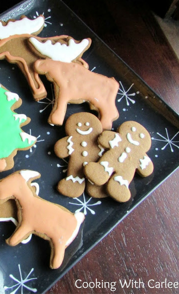 Gingerbread men are a Christmas must have! These one have a nice buttery cookie base and all of the spices are likely to already be in your spice cabinet. They will make converts of those who don't think they like these spicy little fellas!