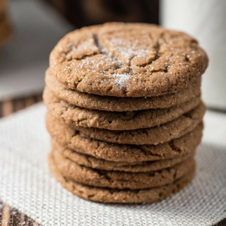 Soft Molasses Sugar Cookies