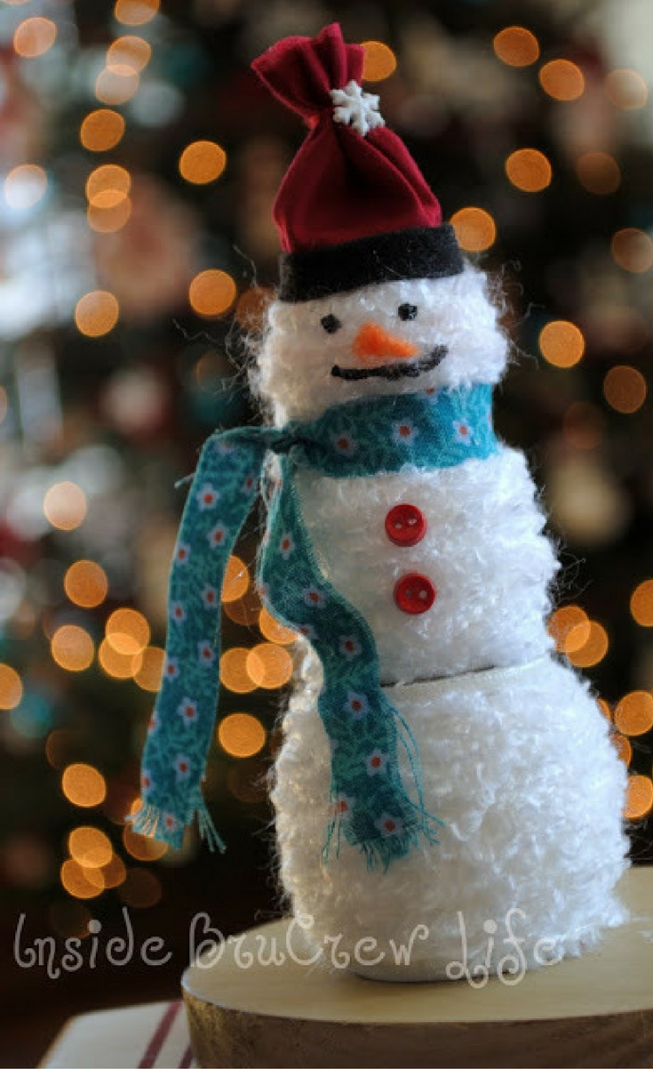 Time to gather your suppliesbecause I am going to share my snowman vision with you.