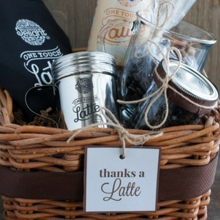 Caramel Latte and Thanks A Latte Gift Basket