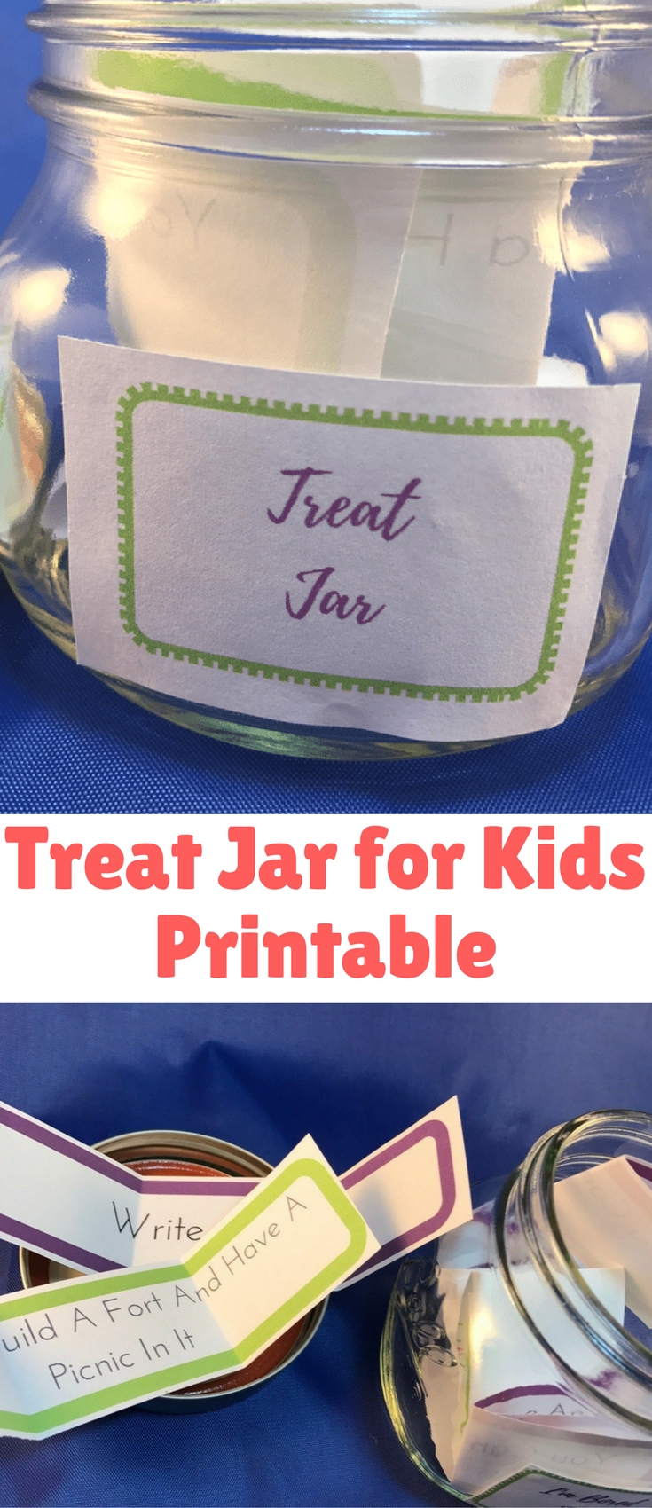 Are you looking for a fun way to motivate and encourage your kids? Check out this fun Treat Jar for Kids Printable Kit.