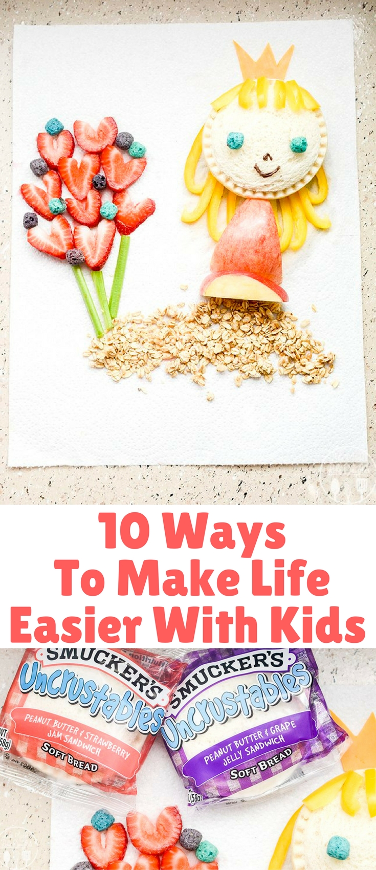 We know we all need as much help as we can get, so here are 10 ways to make life easier with kids.