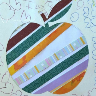 Apple Cutout Kids Craft