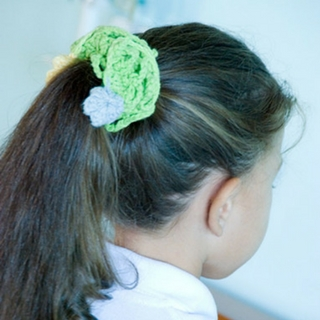 Beautiful and Simple Crochet Hair Accessories