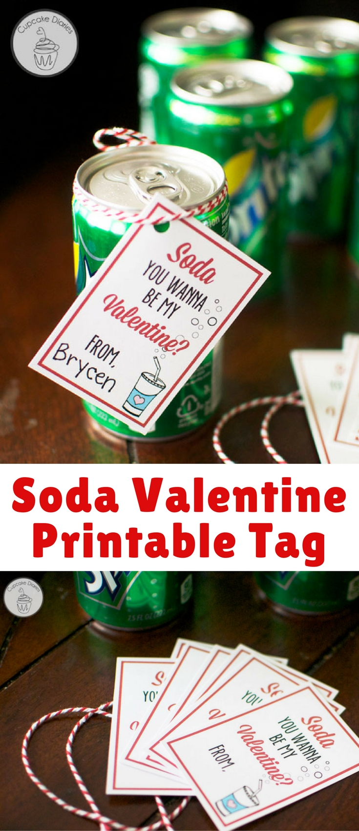 My four-year-old son is in preschool and getting really excited for Valentine's Day. I gave him a couple of options for valentines and he chose this idea. This is a fun one and super easy!