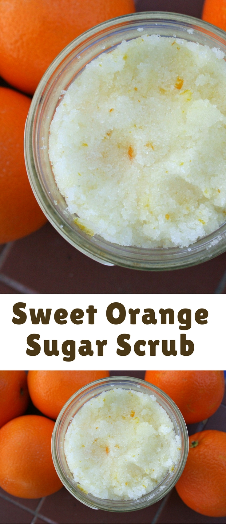 Sugar scrubs are not only easy to make, but they are cheaper than store bought. This Sweet Orange Sugar Scrub will feel like you are at a spa!