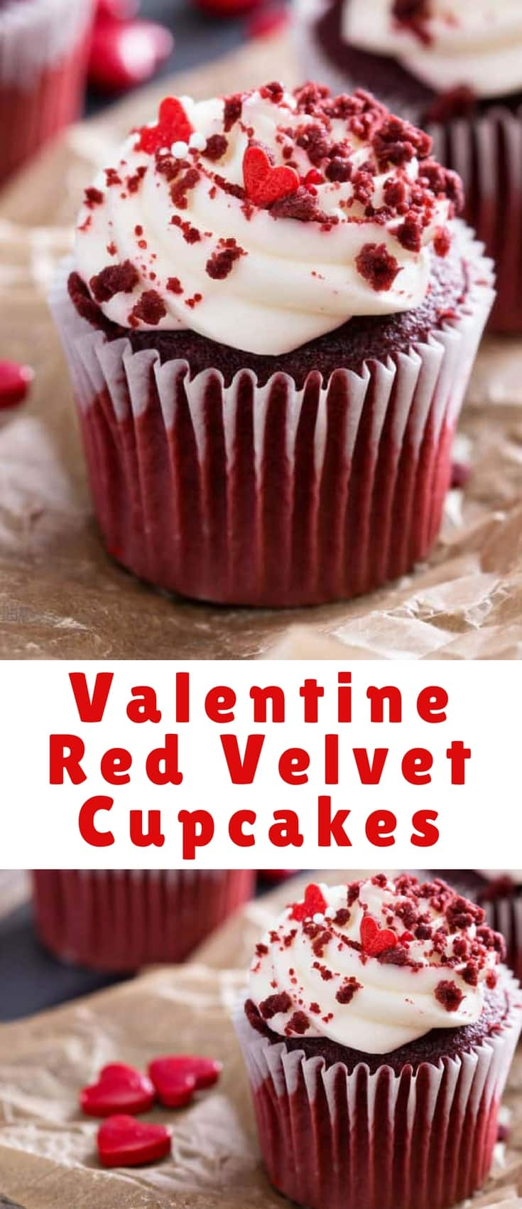 Red Velvet Cupcakes would be a great treat to make for Valentine's Day or any other day you want to make a special treat for someone you love.
