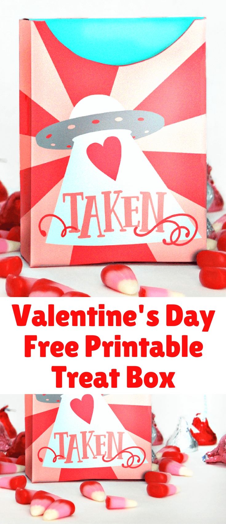 It's almost Valentine's Day! We love this adorable treat box printable and wanted to share it with you. Just print it out, fold and glue, then fill with treats. The kids will love it!