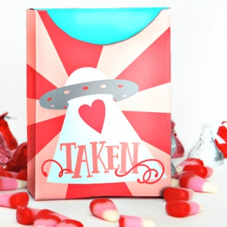 Valentine's Day Free Printable Treat Box